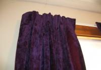 Dark Purple Velvet Curtains