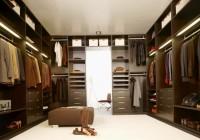Dark Wood Closet Organizer