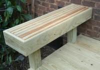 Deck Bench Ideas Plans