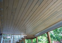 Deck Gutter Drainage System