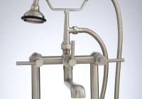 Deck Mount Faucet With Hand Shower