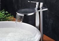 deck mount waterfall tub faucet