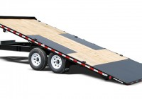 Deck Over Tilt Trailer