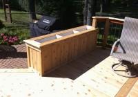 Deck Planter Boxes Ideas