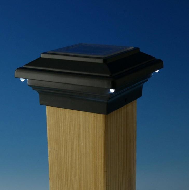 Permalink to Deck Post Caps Solar