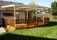 Deck Post Cover Ideas