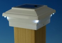 Deck Post Solar Lights Home Depot