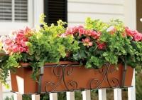 deck rail planters self watering