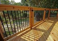 deck railing aluminum balusters