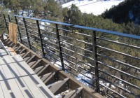 Deck Railing Horizontal Tubes