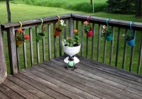 Deck Railing Planter Brackets