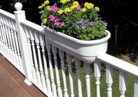 Deck Railing Planters Home Depot