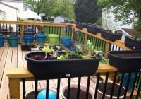 deck railing planters walmart