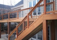 Deck Railing With Metal Balusters