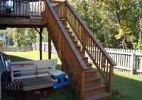 Deck Stair Handrail Code