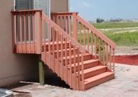 Deck Stair Railing Plans