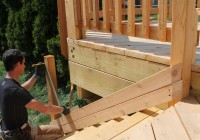 Deck Stair Railing Posts