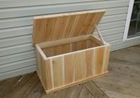 deck storage box plans
