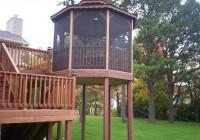 Deck With Gazebo Ideas