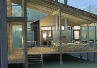 Decks And Porches Off Of Mobile Home
