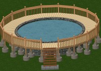 Decks For Above Ground Pools Plans