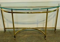 Demilune Console Table Ethan Allen