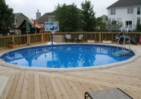 Designing A Deck Around An Above Ground Pool