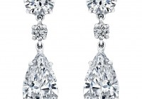 Diamond Chandelier Earrings Designs