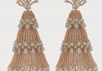 Diamond Chandelier Earrings India
