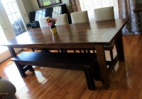 Dining Room Bench Diy