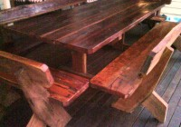 Dining Table Bench Seat With Back