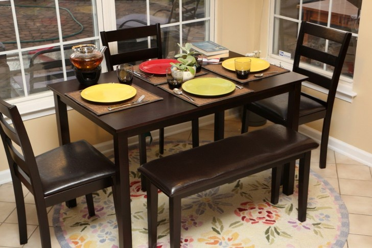 Permalink to Dining Table With Bench Chairs