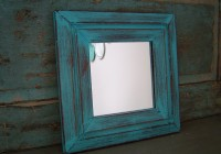 Distressed Wood Mirror Frames