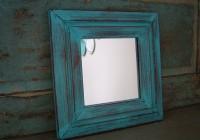 Distressed Wood Mirror Frames