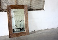 Distressed Wood Mirror Sale