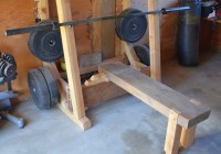 Diy Bench And Squat Rack