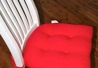 Diy Chair Cushions With Ties