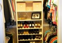 Diy Closet Shoe Storage
