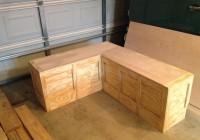 Diy Corner Storage Bench