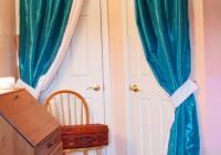 Diy Curtain Closet Door