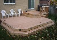 Diy Deck Building Plans