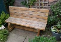 Diy Garden Bench Plans