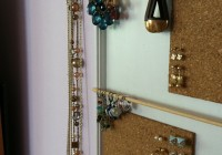 Diy Jewelry Organizer From Framed Mirror