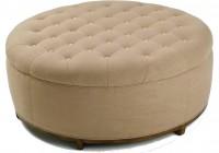 Diy Large Round Ottoman
