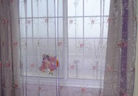 Diy Little Girl Curtains