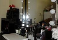 diy makeup vanity mirror with lights