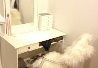 Diy Mirrored Vanity Table