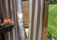 diy outdoor patio curtains