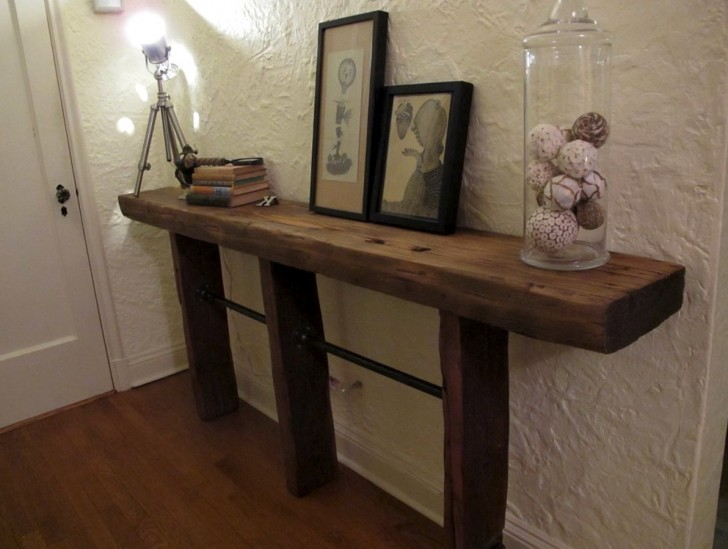 Permalink to Diy Skinny Console Table
