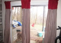 Diy Sliding Glass Door Curtains